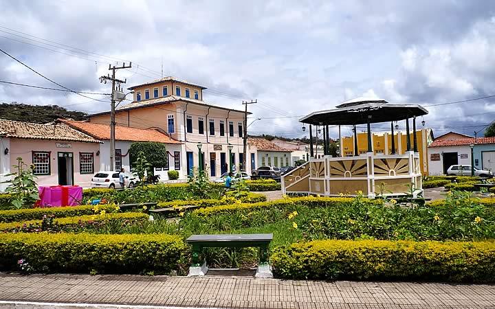 Praça em Mucugê