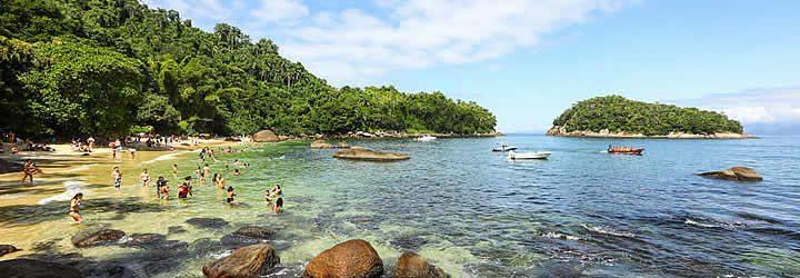 Praia em Ubatuba
