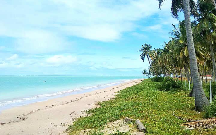 Praia na Rota ecológica dos Milagres