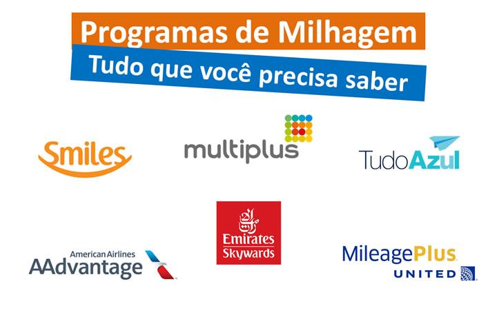 Programas de milhas - Logos