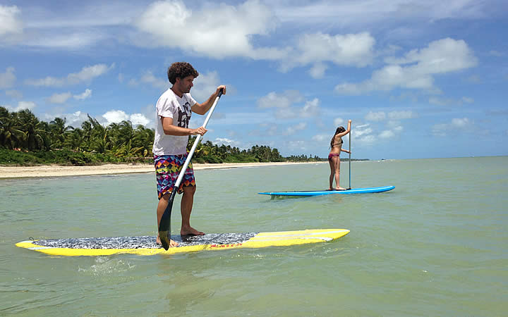 Stand up paddle - Barra de Camaragibe
