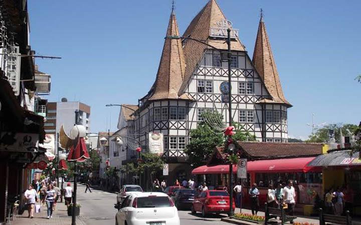 Blumenau - Casas típicas