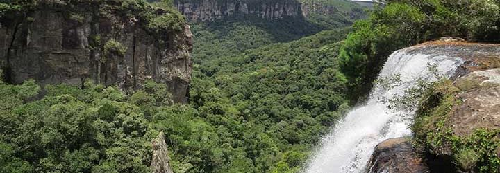 Cachoeira em Jaguariaíva