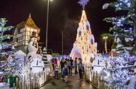 Natal em Blumenau - Santa Catarina