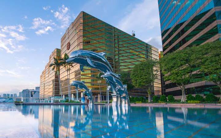 Piscina de hotel em São Paulo