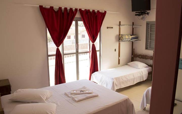 Quarto de hotel em Delfinópolis
