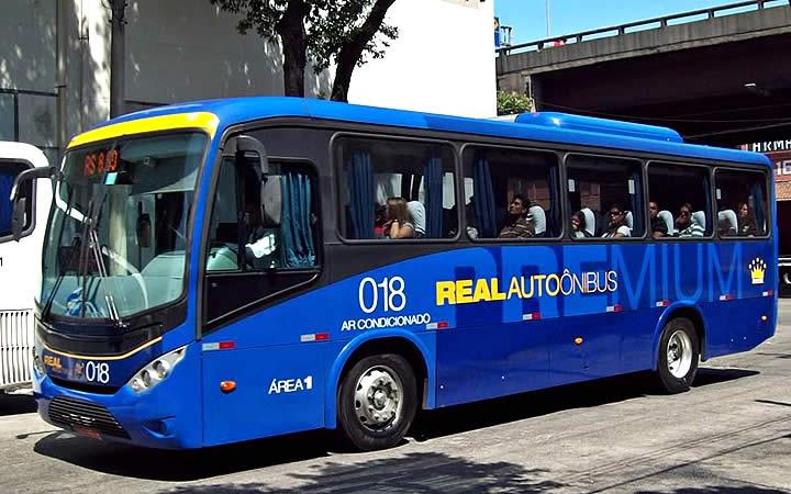 Ônibus conexão Barra - Rio de Janeiro