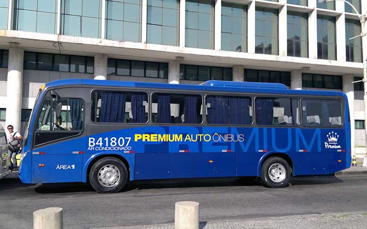Ônibus para o aeroporto Santos Dumont