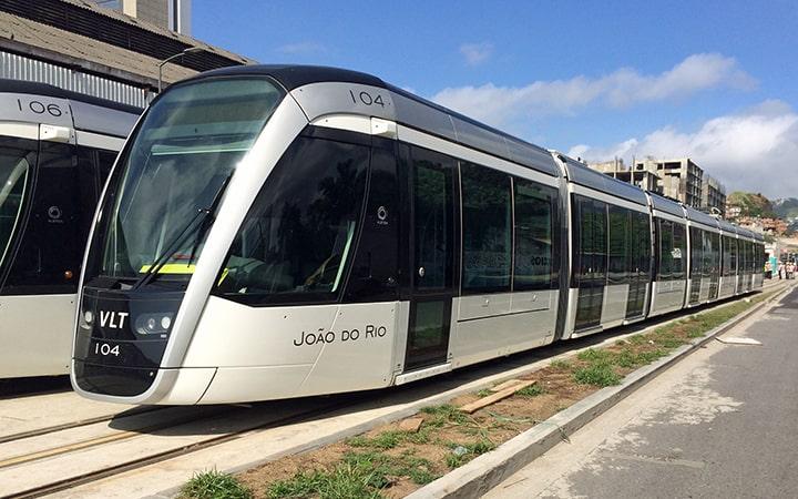 VLT Rio para aeroporto Santos Dumont