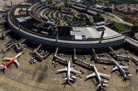 Aeroporto Galeão Vista Aérea