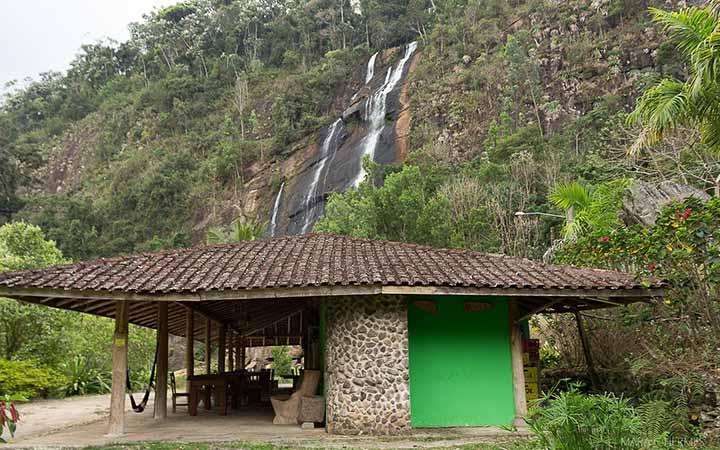 Cachoeira do Pedregulho em Castelo ES