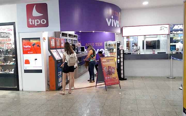 Loja Tipo na Rodoviária da Novo Rio
