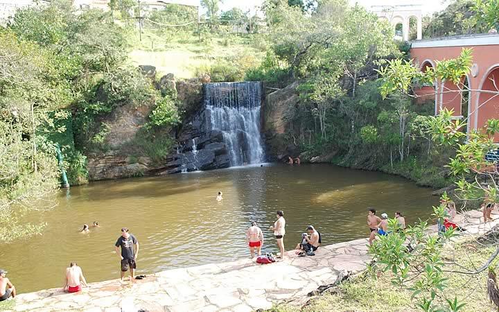 Cachoeira dos Ipês em Lavras