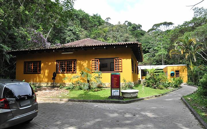 Casa do Centro de Visitantes do Parque Nacional da Tijuca