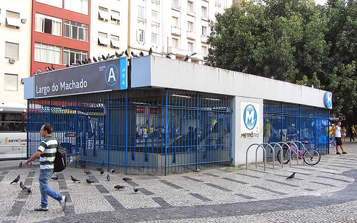 Estação Largo do Machado do metrô