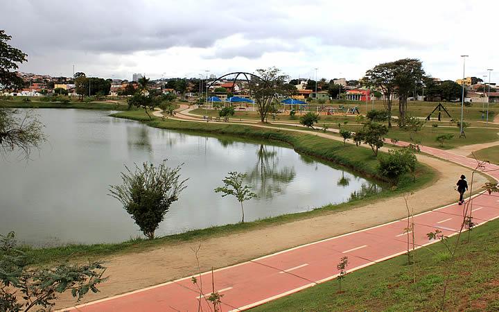 Parques das águas em Sorocaba