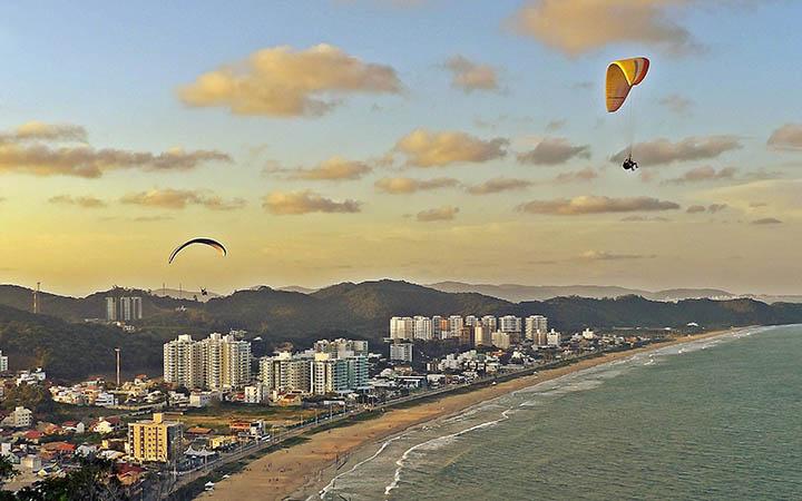 Vista Aérea Praia Brava Balneário Camboriú