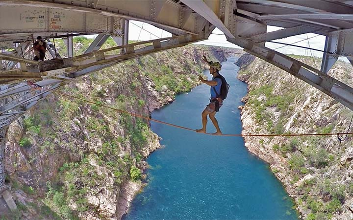 bungee jump em Paulo Afonso