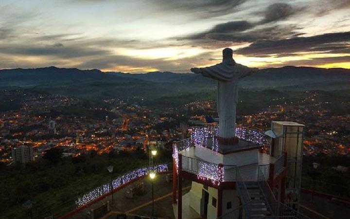 Mirante do Cristo em Monte Alegre do Sul