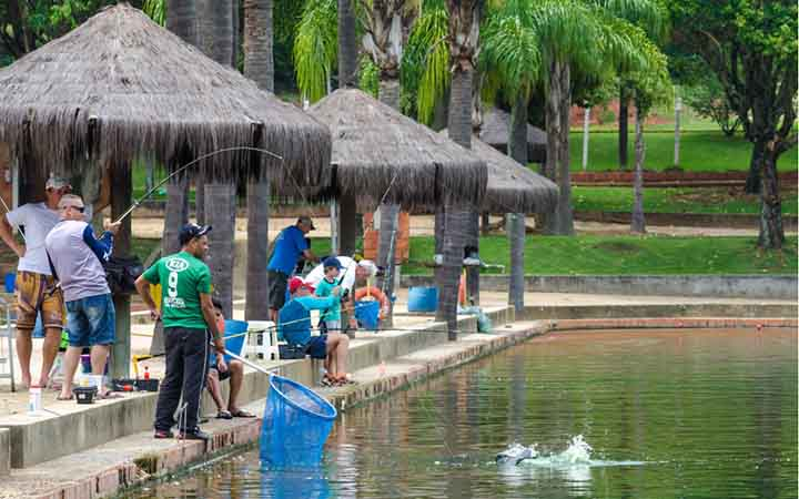 Pesca Esportiva parque Maeda