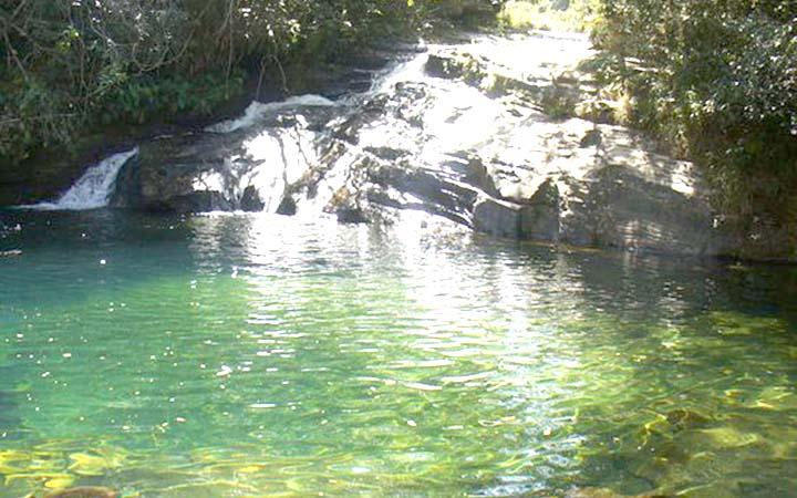 Poço da Esmeralda em Carrancas em MG