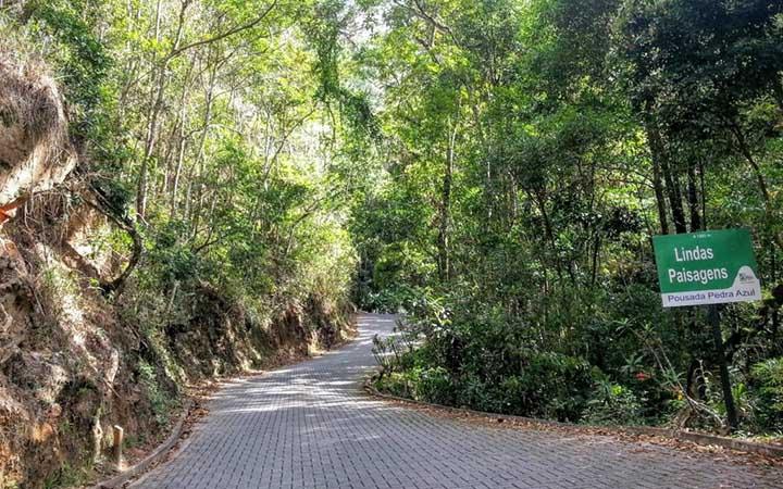 Rota do Lagarto - Estrada