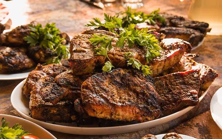 Carne de restaurante