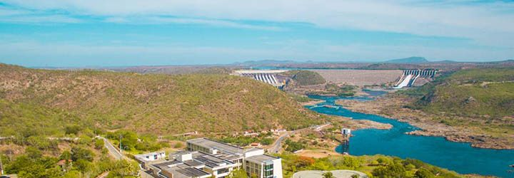 Xingó parque hotel - Usina hidrelétrica