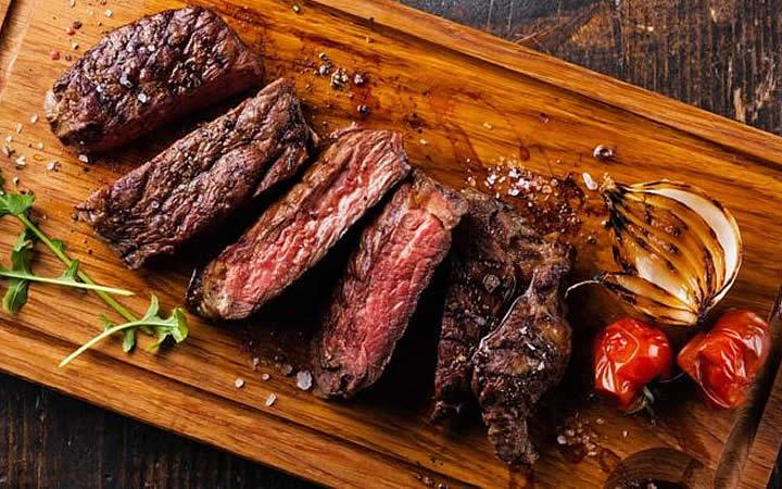 Prato com Carne