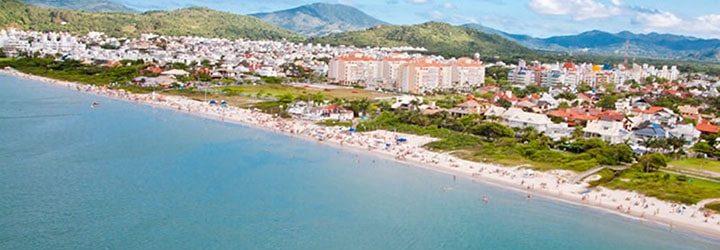 Praia de Jurerê em Santa Catarina