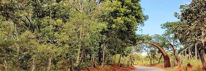 Entrada do Parque Estadual do Sumidouro