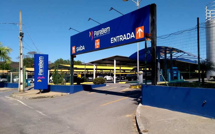 Estacionamento Aeroporto de Cofins