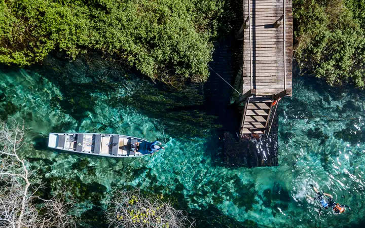 Lago Cristalino em Bonito MS