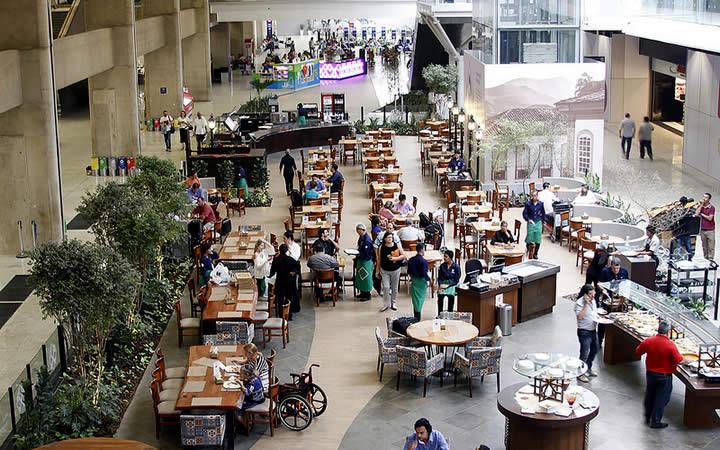 Praça de Alimentação Aeroporto Cofins