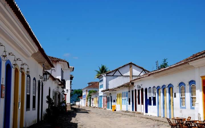 Rua de Paraty RJ