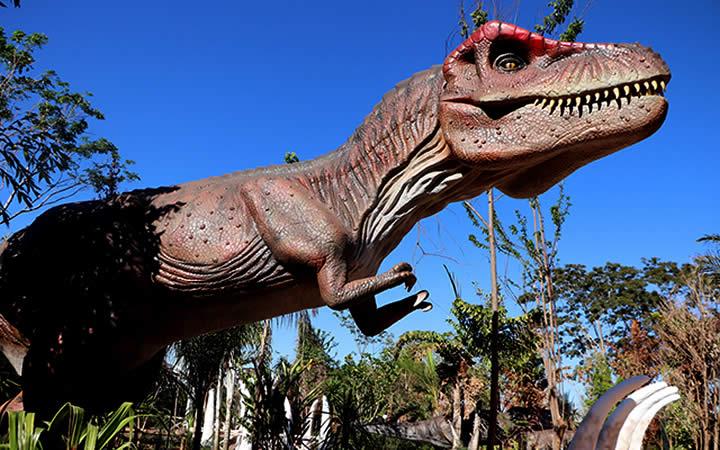 Vale dos Dinossauros Olímpia SP