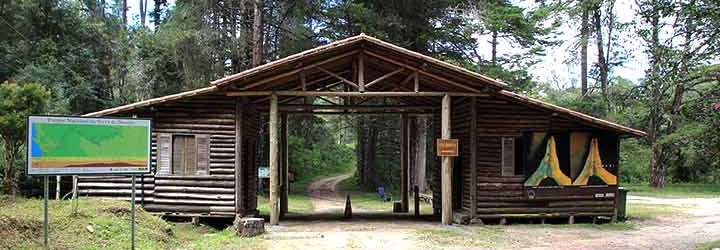Entrada do Parque Nacional da Serra da Bocaina