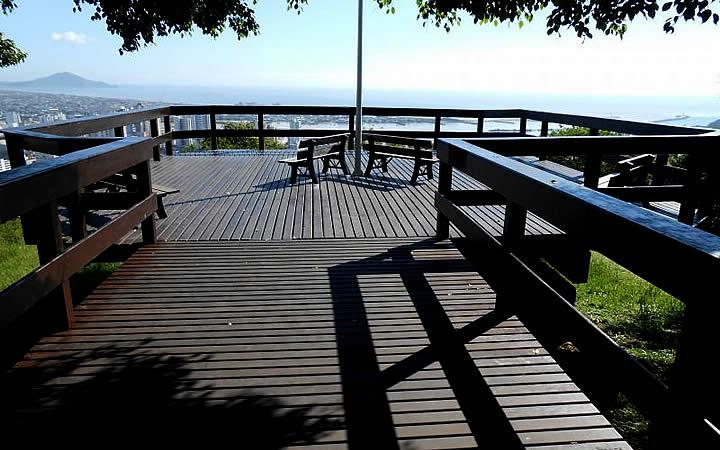 Deck Morro da Cruz - O que fazer em Itajaí