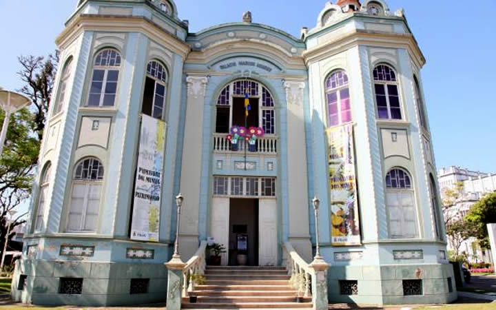 Fachada do Museu Histórico Santa Catarina