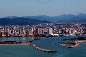 Vista da Cidade de Itajaí SC