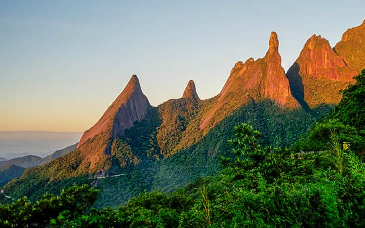 Vista Aérea Montanhas de Teresópolis