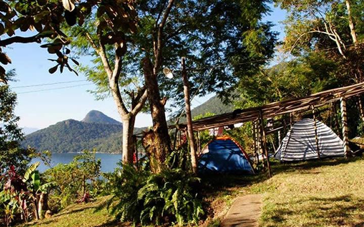 Acampamento em Ilha Grande RJ