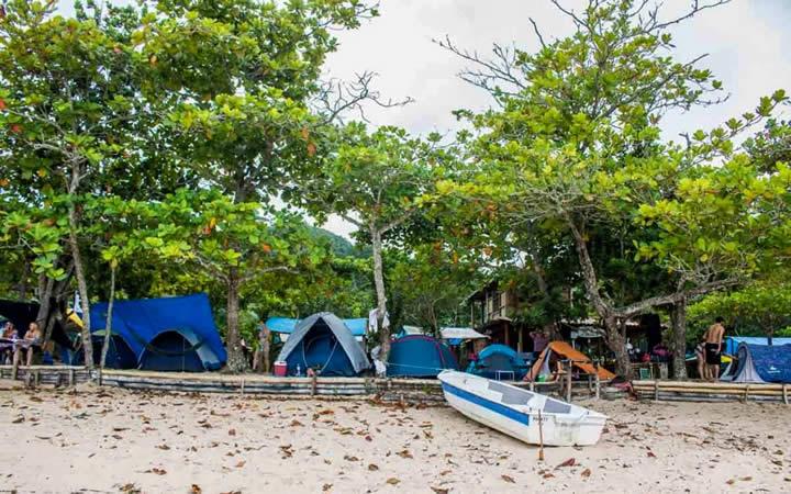 Camping praia do sono Paraty