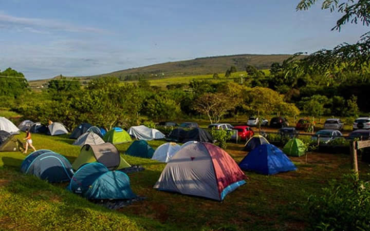 Carrancas MG - Barracas de camping