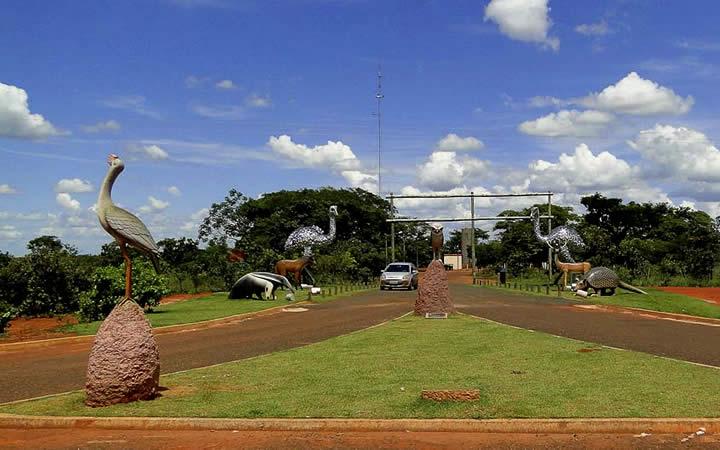Entrada Parque Nacional das Emas