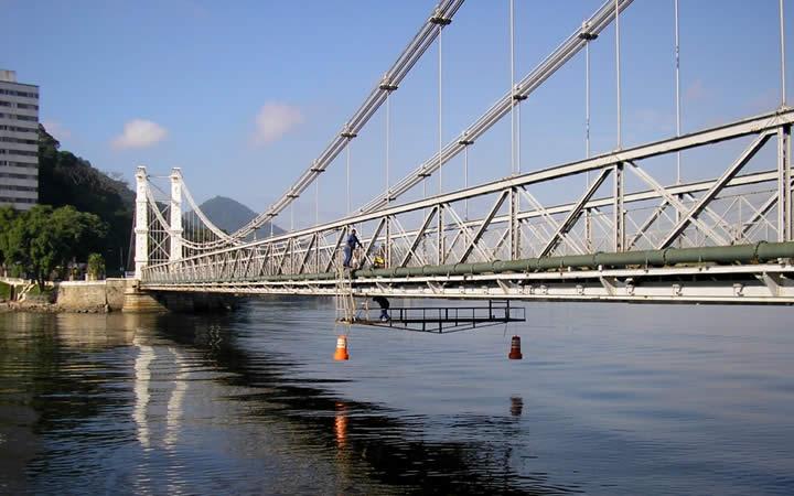 Ponte Pênsil de São Vicente SP