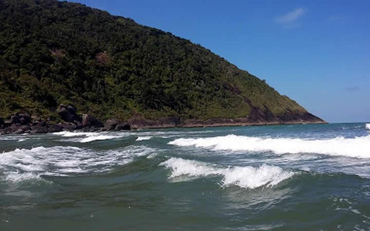 Praia de Parnapuã São Vicente SP