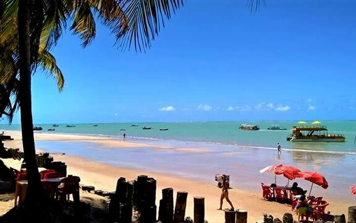 Praia em Cabedelo - Paraíba