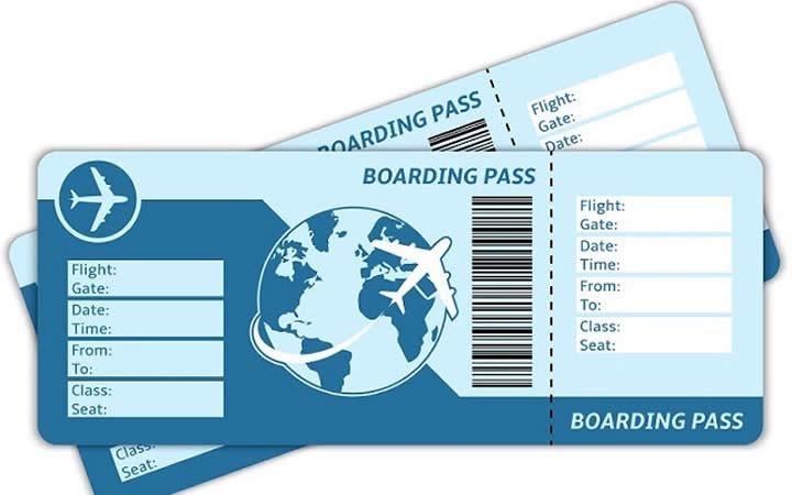 Passagem aérea - Viagem para fora do Brasil