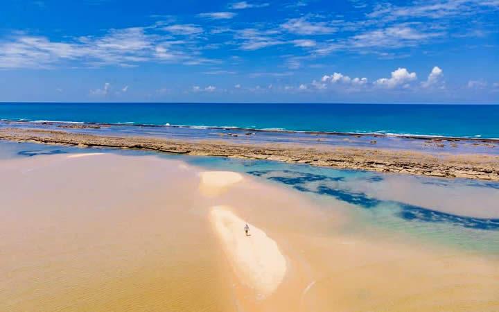 Praia Barra de São Miguel - Alagoas